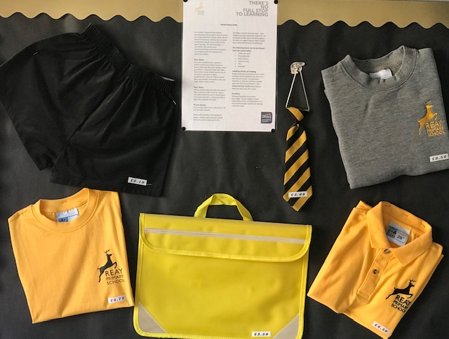 Reay School Uniform
